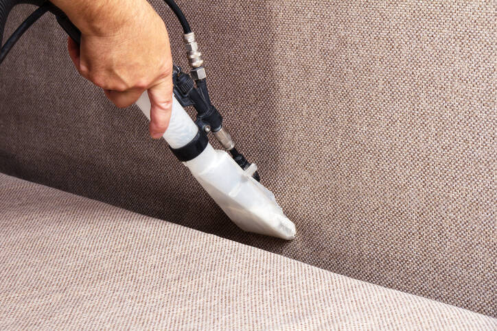 Sofa Cleaning by Steam Master Carpet & Upholstery Cleaning Inc
